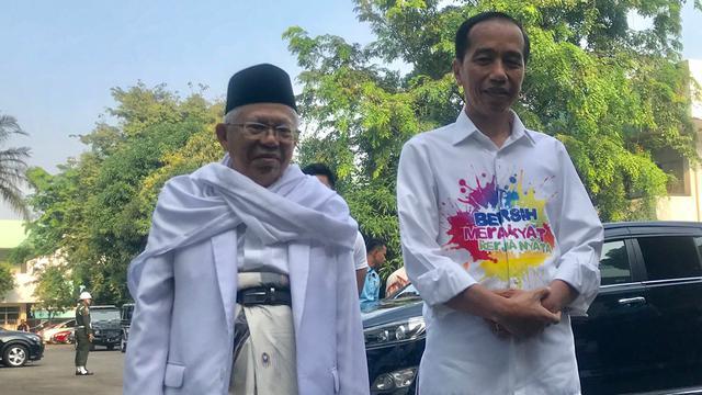 Paslon Jokowi-Amin (Ist)