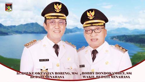 Royke Oktavian Roring dan Robby Dondokambey