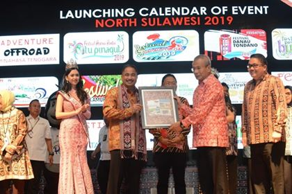 Launching Calender of Event North Sulawesi 2019